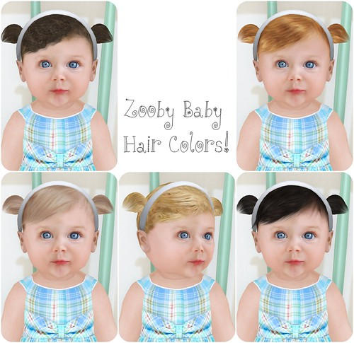 Zooby Baby hair