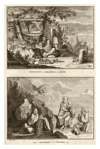 015-Magos y hechiceros de la China-Ceremonias et coutumes religieuses de tous les peuples du monde 1741- Bernard Picart-© Universitätsbibliothek Heidelberg