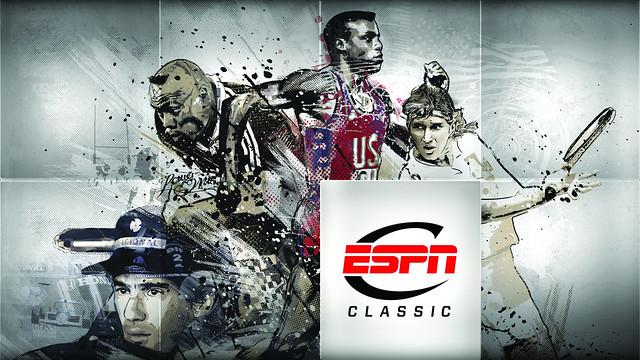 """2011 - ESPN Classic identity artwork """"INDIVIDUALS"""""""