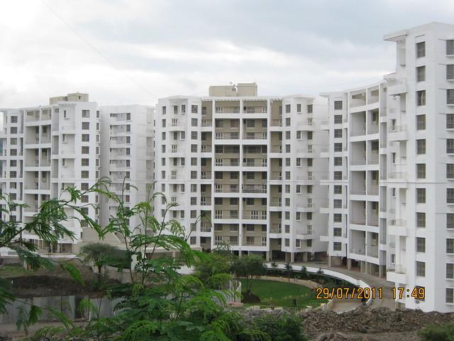 Paranjape Schemes' Gloria - Visit to Paranjape Schemes' Gloria Grace, 2 BHK & 3 BHK Flats, at Bavdhan, on Paud Road, Kothrud Annexe, Pune