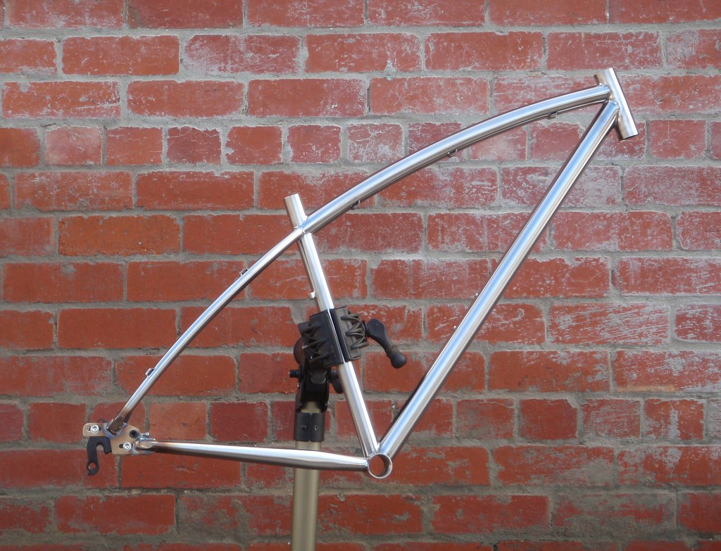 MS2 Stainless steel 29er mountain bike frame