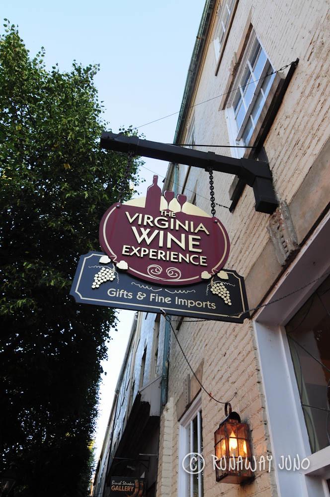 Virginia Wine Experience