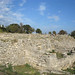Ruins of ancient Troy (Troia), Anatolia, Turkey