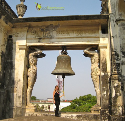 Leon Nicaragua Cathedral Bell Tower 2