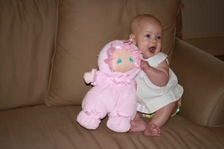 Annie Five Months 436