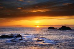 (nodie26) Tags: ocean sea color rock night sunrise long tour slow taiwan flowing oceans   hualien           naturesfinest   eow        aplusphoto