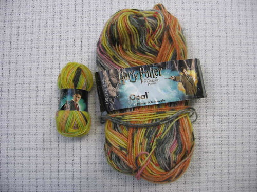 Harry Potter yarns