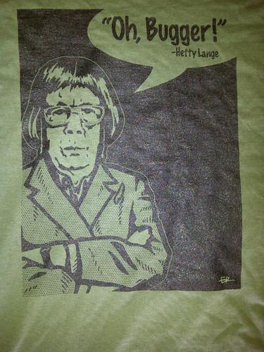 back of NCIS:LA t-shirt