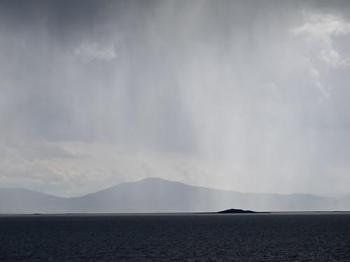 Storm over Tsagaan Nuur