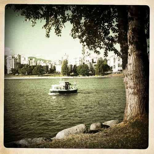 Vanier Park - cute little ferry
