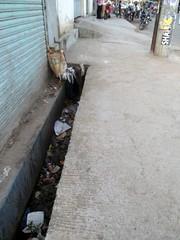 A Typical Sidewalk in Mirpur, Dhaka