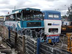 Carlton, Barnsley (Andrew Stopford) Tags: carlton spectra barnsley metrobus stevensons daf mcw arriva partons db250 wmpte l95hrf a771wvp kingsleysbirtley