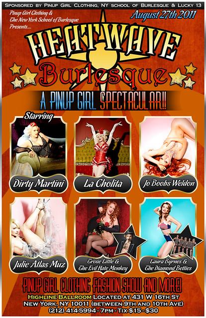 The New York School of Burlesque   Burlesque Spectacular! 684a4df9f