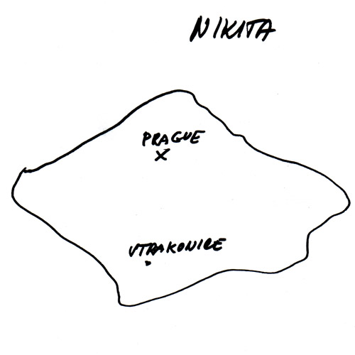 Czech Republic, drawn by Nikita