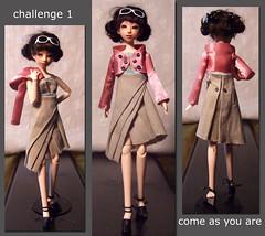 Challenge 1 triptych