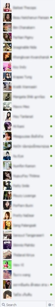 Facebook Chat with 30 friends in Firefox height 993 pixels