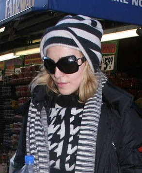 Madonna Dior fashion sunglasses