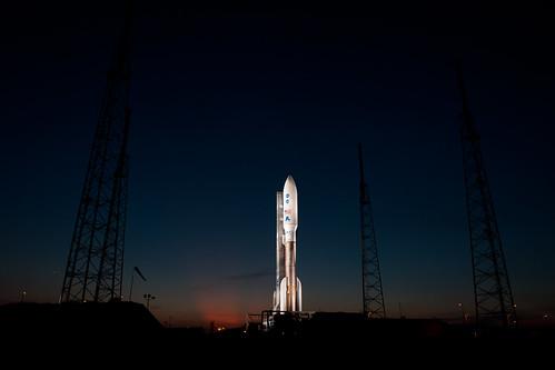 Atlas V Rocket Ready for Juno Mission (201108040003HQ)