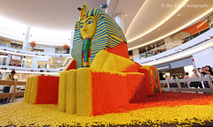"""""""The Boy King of Egypt"""", Aberdeen Center, Richmond BC, 1 August 2011 (PhotoDG) Tags: city people canada history sphinx vancouver shopping bc chocolate britishcolumbia egypt richmond shoppingmall mm candies ancientegypt richmondbc aberdeencenter thegreatsphinx ef1635mmf28liiusm theboykingofegypt aberdeenshoppingcenter thesphinxatgiza"""