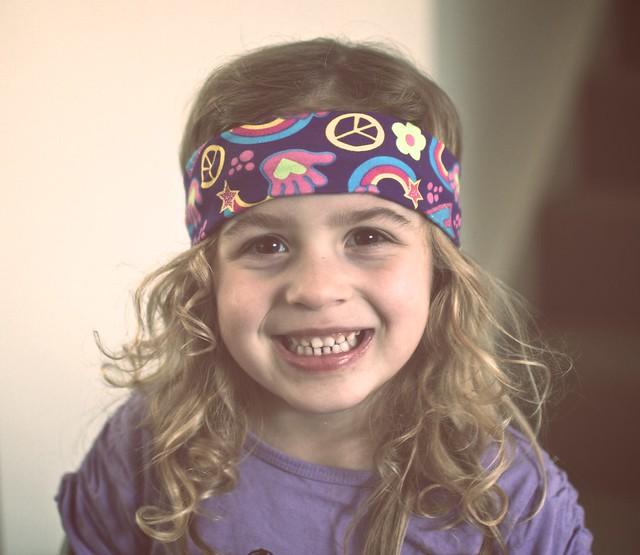My daughter the hippie