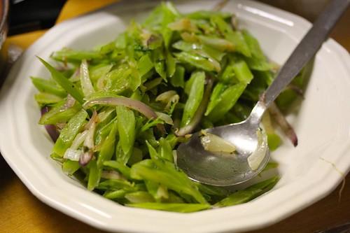 Sauteed Kale Stems