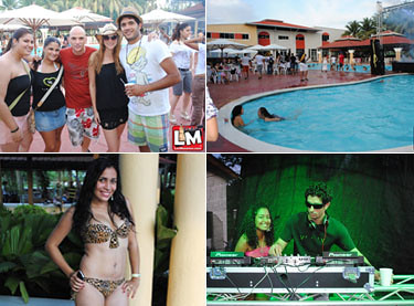 Vialx in the Pool @ Club Recreativo Moca