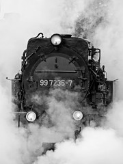 Smoke & Steam (Gerry Balding) Tags: train germany smoke engine steam locomotive narrowgauge wernigerode hsb harzquerbahn harzmountains harzerschmalspurbahnen
