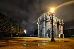 Arc du Carrouseel (Vincent.RCT Photographies) Tags: nikon d7000 d7k paris hdr haaghun france louvre night city colorphotoaward haaghungmailcom photography photographies