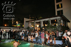 Teeki.com Launch Party (Cubico Media Labs) Tags: party sexy pool night fun hotel la losangeles bikini hollywood fashionweek skybar teeki mondrianhotel cubico
