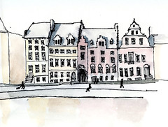 Gent (Rebecca Vanysacker) Tags: france building castle art monument architecture painting design rebecca drawing kunst schilderij dessin peinture monuments architectuur gebouw kasteel architectura croquis tekening schets vanysacker