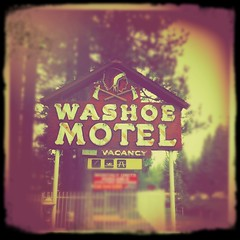Washoe Motel (TooMuchFire) Tags: signs vintage neon laketahoe nativeamerican neonsigns motels southlaketahoe mobilephonephotos iphone oldsigns vintagesigns vintagesignage oldmotels cellsnaps mobilesnaps motelsigns signporn iphone4 oldneonsigns washoemotel iphonepics iphonephotos iphoneography hipstamatic blurfx infinicam washoeindian