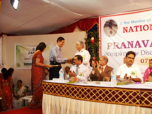 Felicitation of Dr.Ashanand