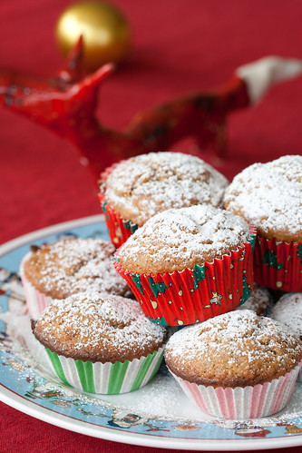 Gingerbread muffins / Piparkoogimuffinid