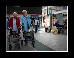 Stadsgezichten / Townfaces (Theo Kelderman) Tags: street holland haarlem netherlands canon nederland posters billboards schalkwijk vrouwen straat mensen mannen winkelcentrum stadsgezichten 2011 theokeldermanphotography townfaces