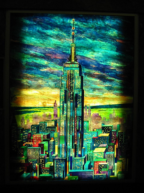 Stained Glass: Empire State Building
