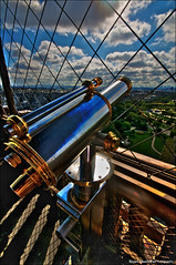 Eyes From The Eiffel - HDR (Stuart-Saunders) Tags: paris france tower clouds eiffel hdr