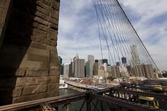 Brooklyn Bridge, during Summer Streets (Dan Nguyen @ New York City) Tags: city nyc newyorkcity urban landscape outdoors cycling manhattan running biking summerstreets