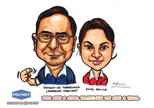 Caricatures for Polymet - 4