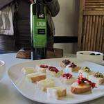 "Olive Oil Tasting <a style=""margin-left:10px; font-size:0.8em;"" href=""http://www.flickr.com/photos/14315427@N00/6190014896/"" target=""_blank"">@flickr</a>"