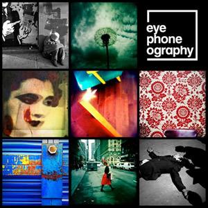 "Imágenes cartel exposición itinerante ""eyephoneography móvil"""