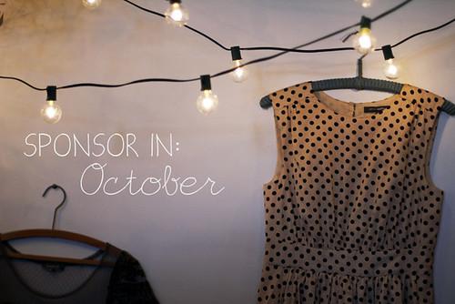 Sponsor in October