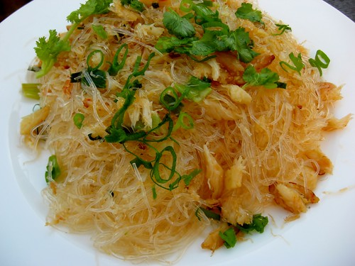 Bean Thread Noodles with Crab