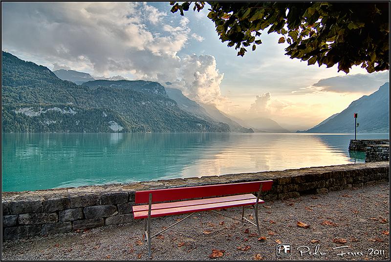 Suiza - Lago Thun - El cazador de bancos - Bench Hunter part XXXIV