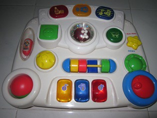 Musical Activity toy - $20 (1/2)