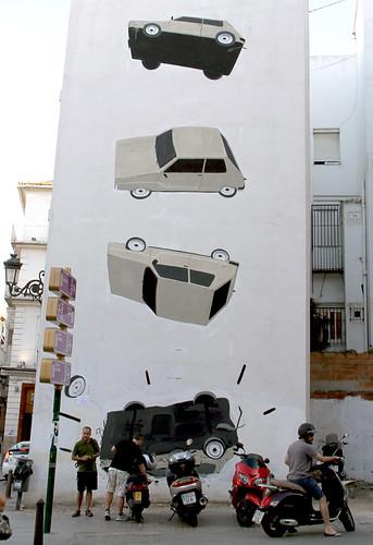 GRAFFITI DE ESCIF - BARRIO DEL CARMEN - VALENCIA by juanluisgx