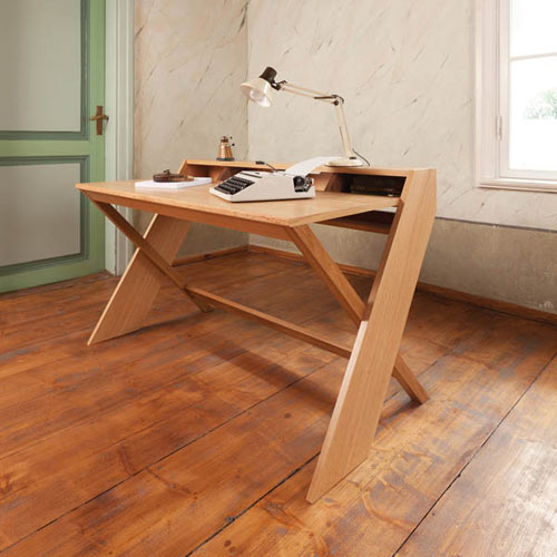 workalicious ravenscroft wood desk