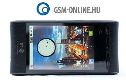 LG Optimus GT540 fekvõ