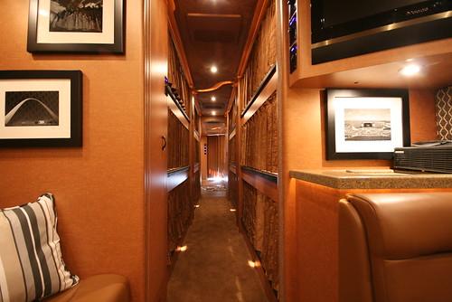 Broadway LTD - Bunk Hallway - facing forward