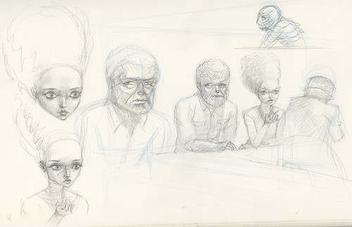 Sketches: Nighthawks