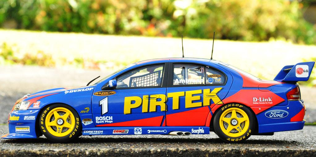 2001 Ford Falcon V8 Supercar: 2005 Marcos Ambrose Ford Falcon BA V8 Supercar